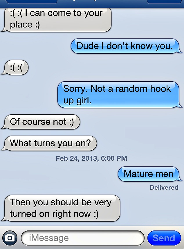 epic sexual text conversation that first date