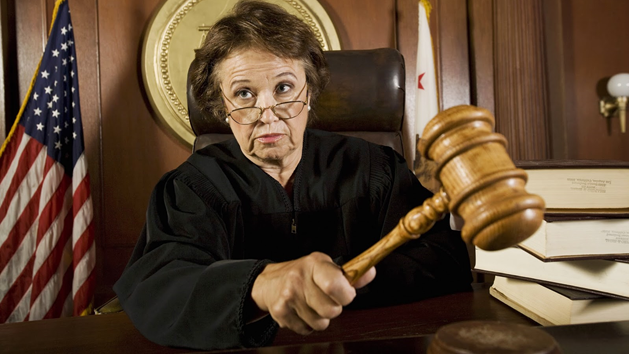 """When a Judge Uses the """"F"""" Word in Court!"""