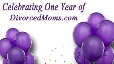 Celebrating One Year of DivorcedMoms and a GIVEAWAY!