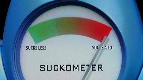 The Suckometer:  Where Does Your Ex Fall?
