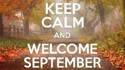 September- Back to School, Real Life and No More Hiding Time